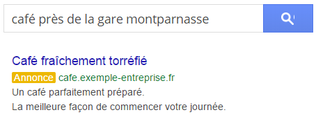 search campagne