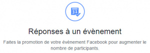 facebook ads evenement