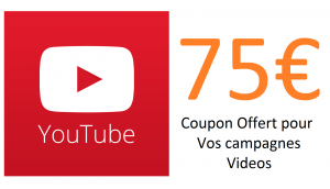 coupon youtube 75€