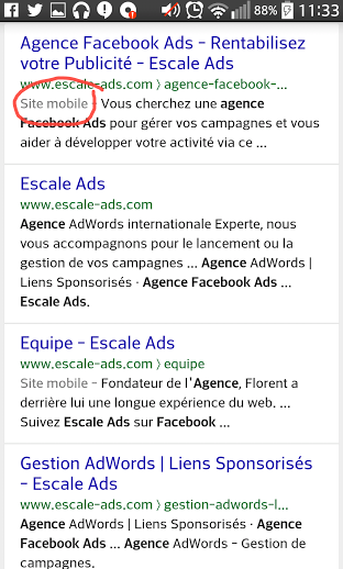 seo mobile friendly 21 Avril