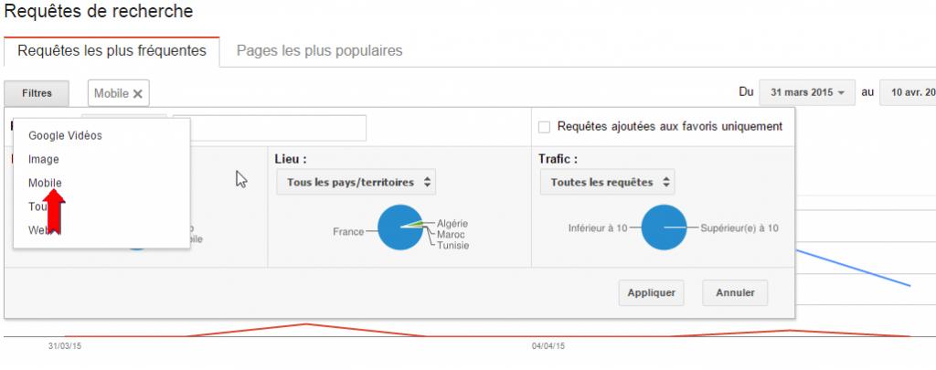 webmaster tool mobile friendly pénalité google