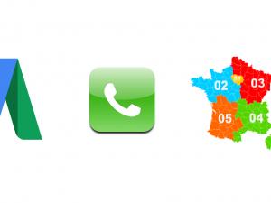 Extension d'appel AdWords : Google Lance les numéros de transfert locaux